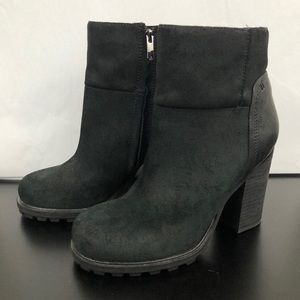 Sam Edelman Suede Leather Franklin Ankle Boots